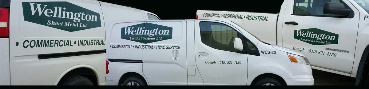 Website Embedded Banner - Wellington Plumbing Heating Comfort Systems HVAC Sheet Metal